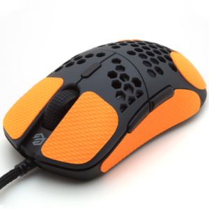 Mouse grip tape for G-Wolves Hati from the brand TrueGrip - front left view