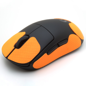 Mouse grip tape for Logitech G PRO Wireless from the brand TrueGrip - front left view